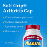 Aleve Gelcaps with Soft Grip® Athritis Cap, Naproxen Sodium, 220mg (NSAID) Pain Reliever/Fever Reducer, 40 Count