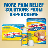 Aspercreme Essential Oils Lidocaine Pain Relief With Lavender, Roll-On No Mess Applicator, 2.5 oz