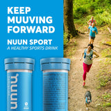 Nuun Sport: Electrolyte Drink Tablets, Juice Box Mixed Box, 4 Tubes (40 Servings)