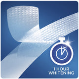 Crest 3D Whitestrips 1 Hour Express Teeth Whitening Kit, 7 Treatments