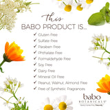 Babo Botanicals Soothing Baby Diaper Cream with Oatmilk and Calendula, Perservative and Mineral Oil Free, Vegan - 3 oz.