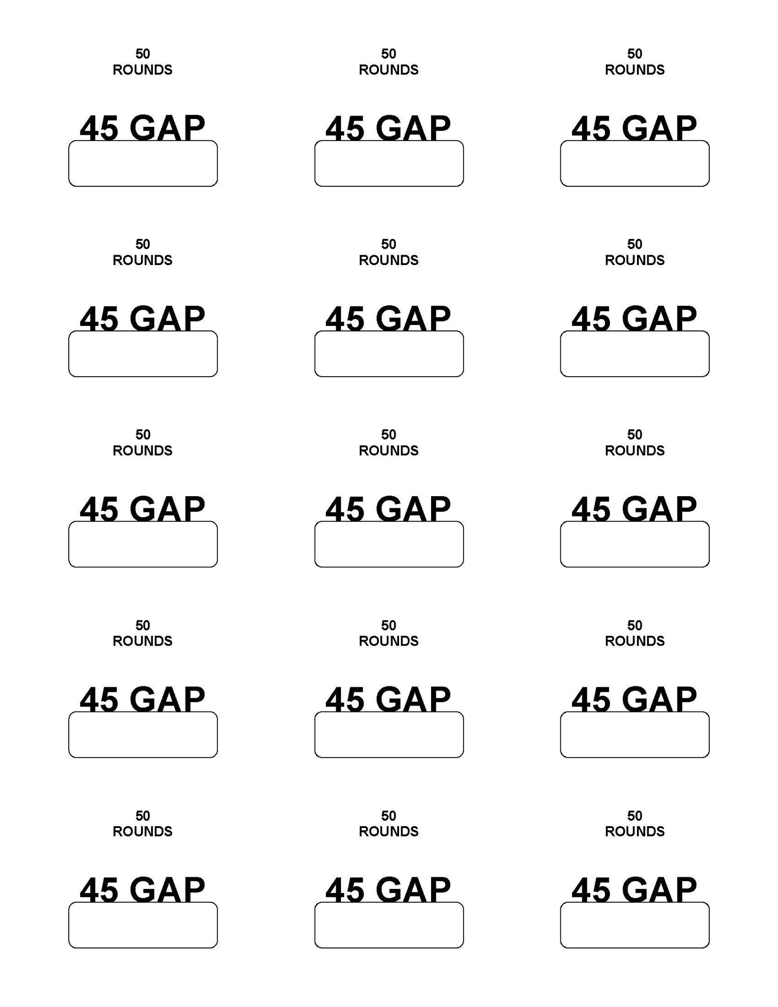 Labels: 45 GAP