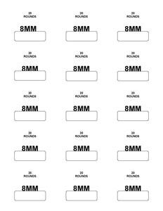 Labels: 8MM Mauser