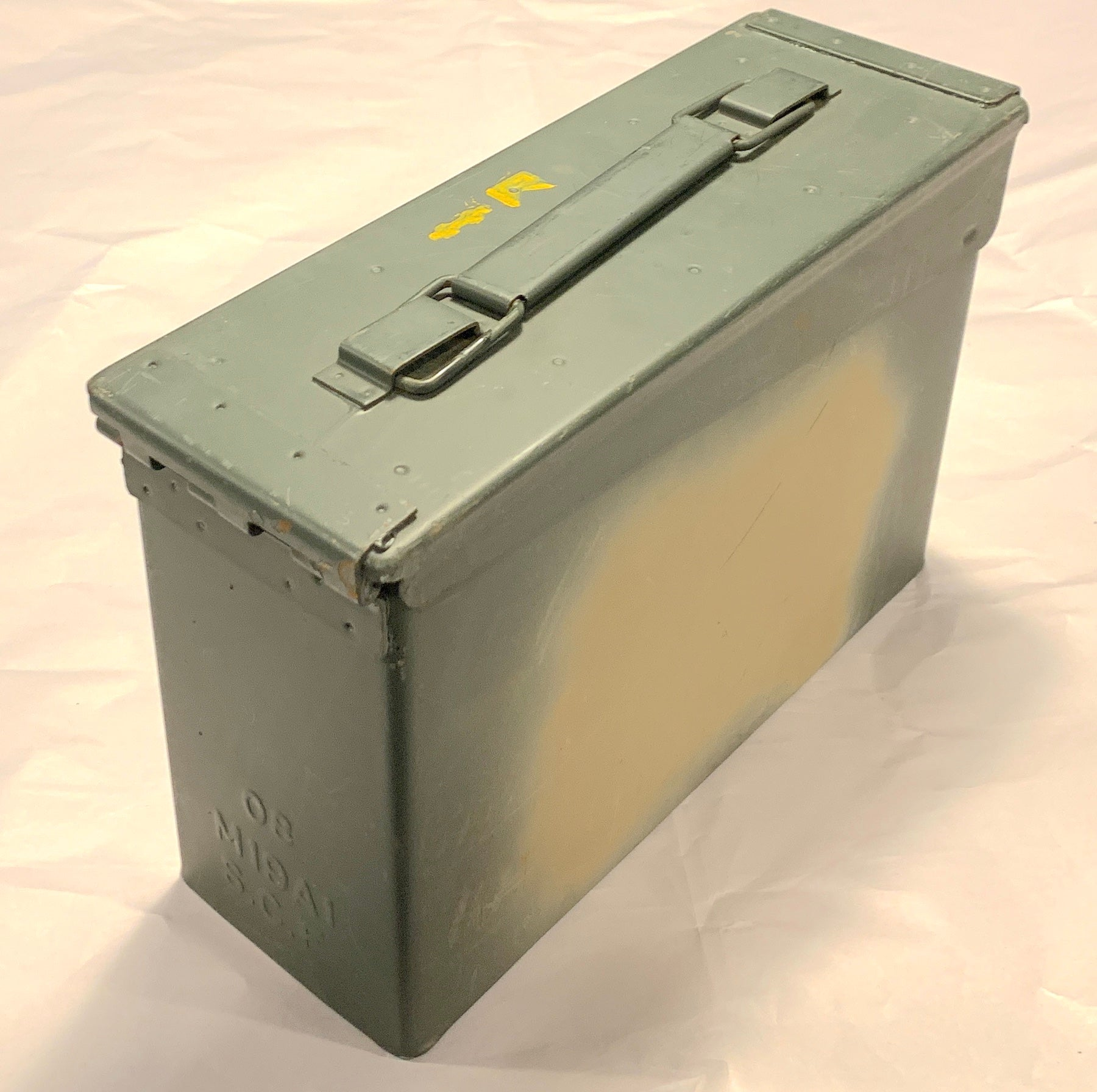 USED GRADE A - U.S.G.I. M19A1 .30 Caliber Ammo Cans - Case of 10