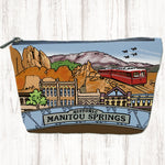 Manitou Springs canvas zip bag