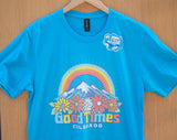 Good Times Colorado T-shirt in Turquoise