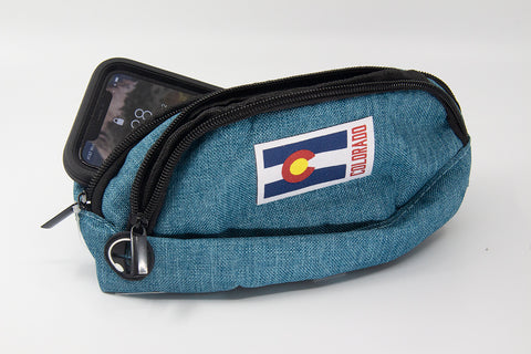 Colorado Flag Logo Bum Bag Hip Pack