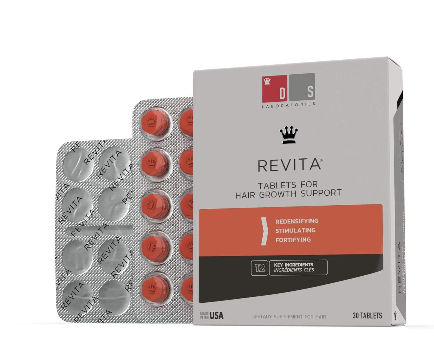 Revita | Nutraceutical Tablets For Hair Growth Support