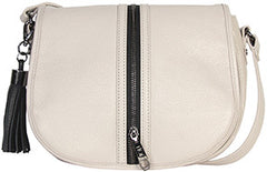Etienne Pebble Zipper Saddle Bag