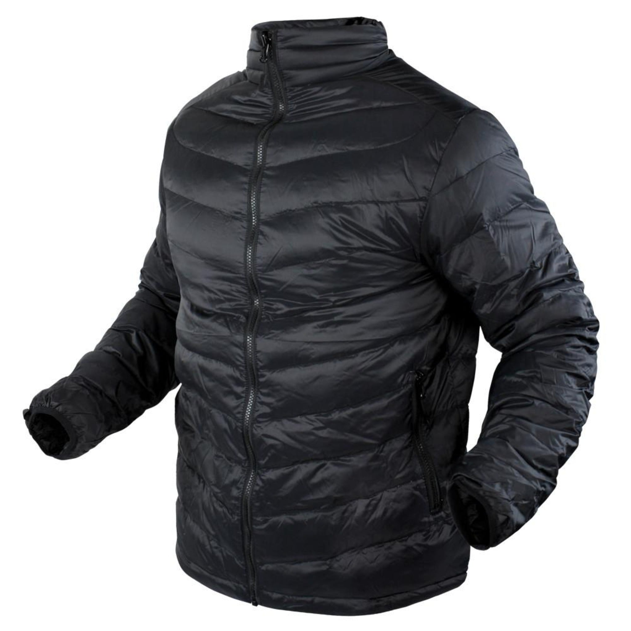 Black Down Jacket.