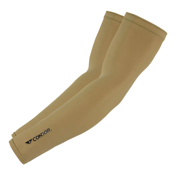 Beige compression arm sleeve from Condor Outdoor.