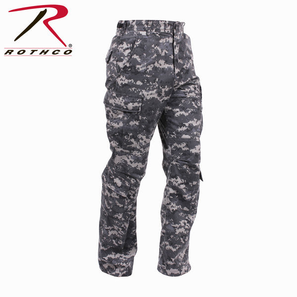 Camo Paratrooper Fatigue Pants, Vintage Style