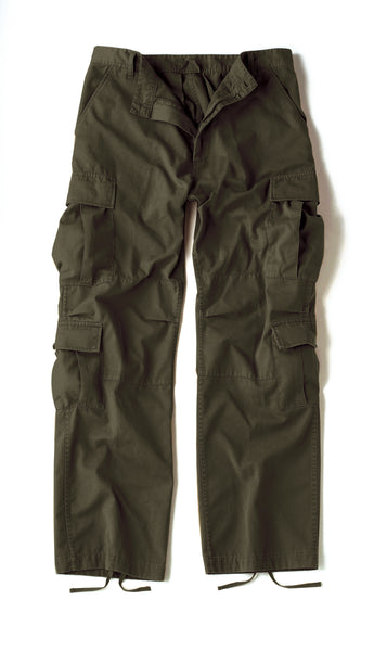 Paratrooper Fatigue Pants, Vintage Style