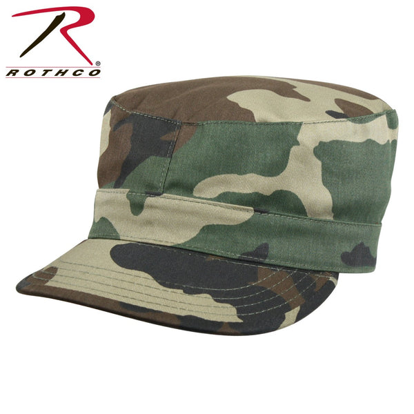 Camo Fatigue Cap From Rothco