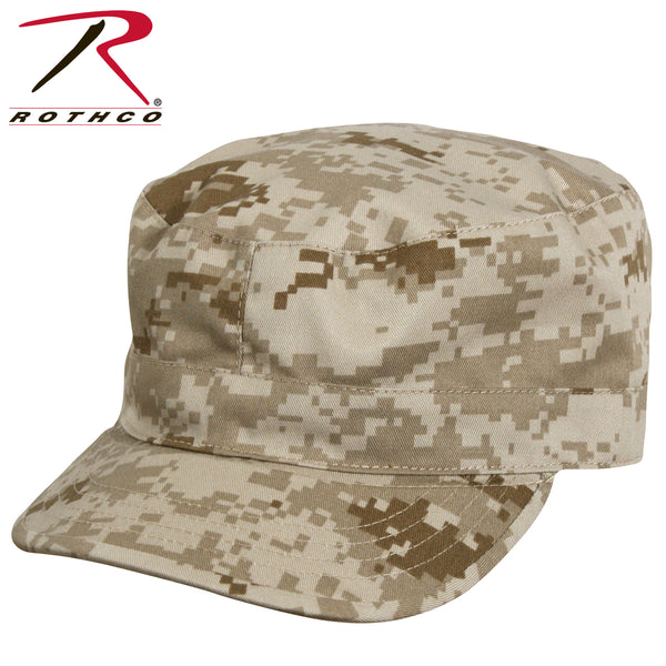 Camo Fatigue Cap