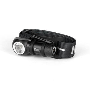 Black Rechargeable LED Headlamp and Task Light