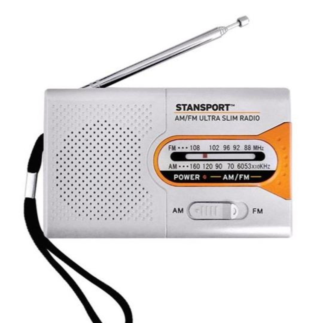 Emergency Radio, AM / FM Receiver