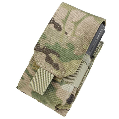 Image of the Single M14 Mag Pouch-Gen II in camoflage.
