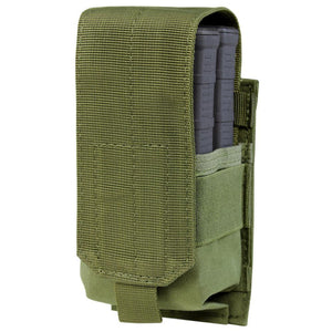 Image of the Single M14 Mag Pouch-Gen II in olive drab.