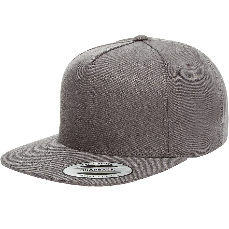 custom flexfit 5089m wool serge snapback hat high quality low minimum headwearhut.com