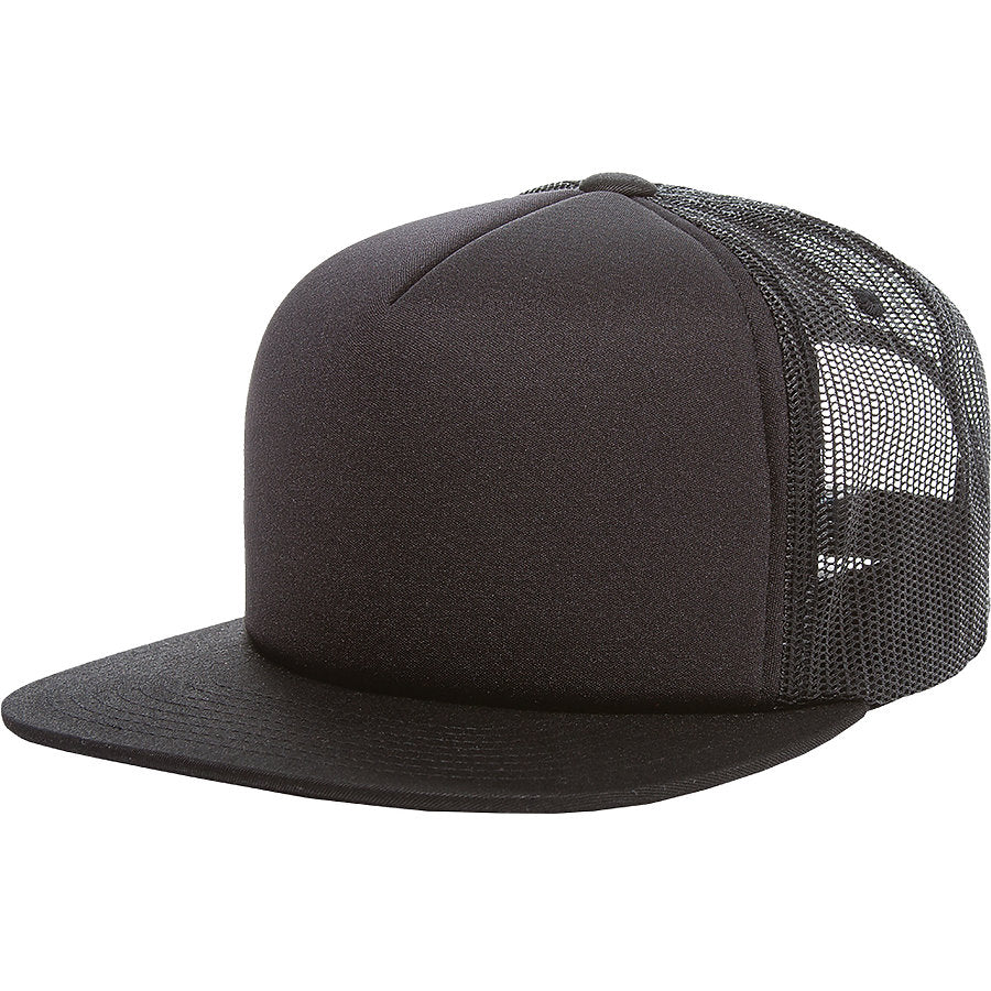 custom flexfit 6005ff foam trucker hat high quality low minimum headwearhut.com