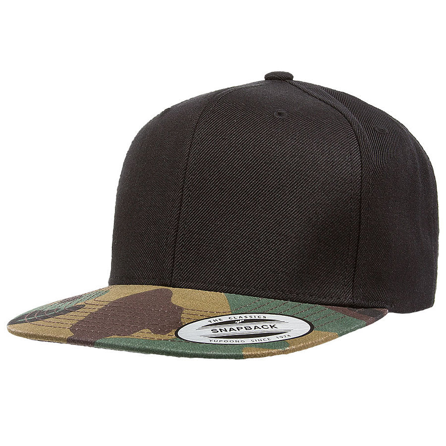 custom flexfit 6089tc classic camouflage snapback high quality low minimum headwearhut.com