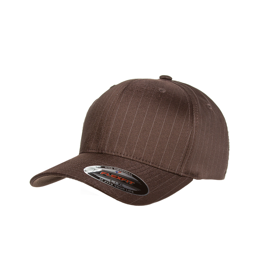 flexfit 6195p pinstripe high quality low minimum headwearhut.com