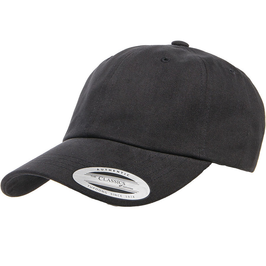 custom flexfit 6245pt peached dad hat high quality low minimum headwearhut.com