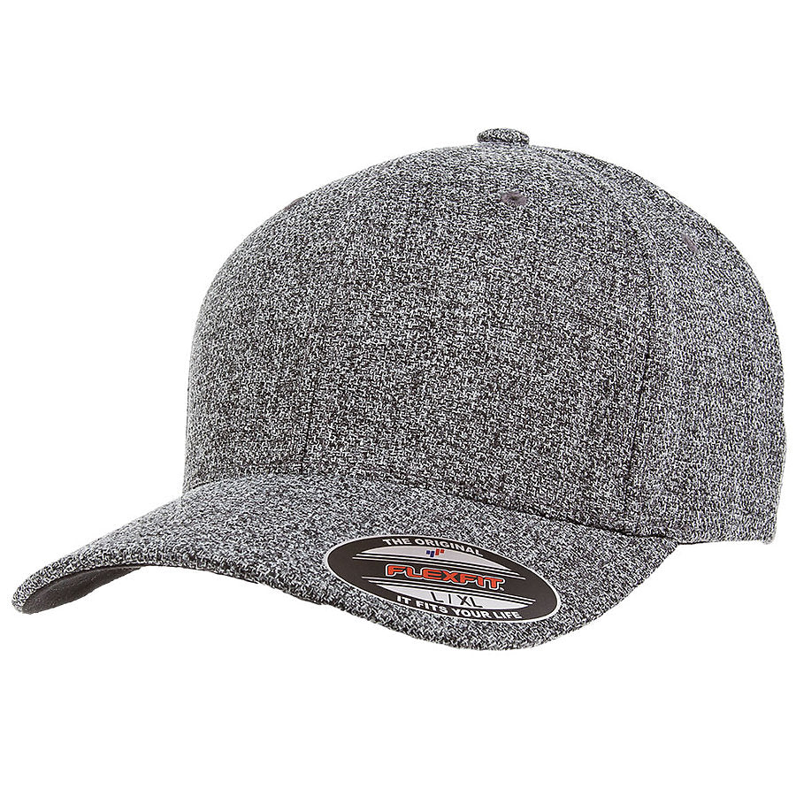 flexfit 6355 melange hat high quality low minimum headwearhut.com