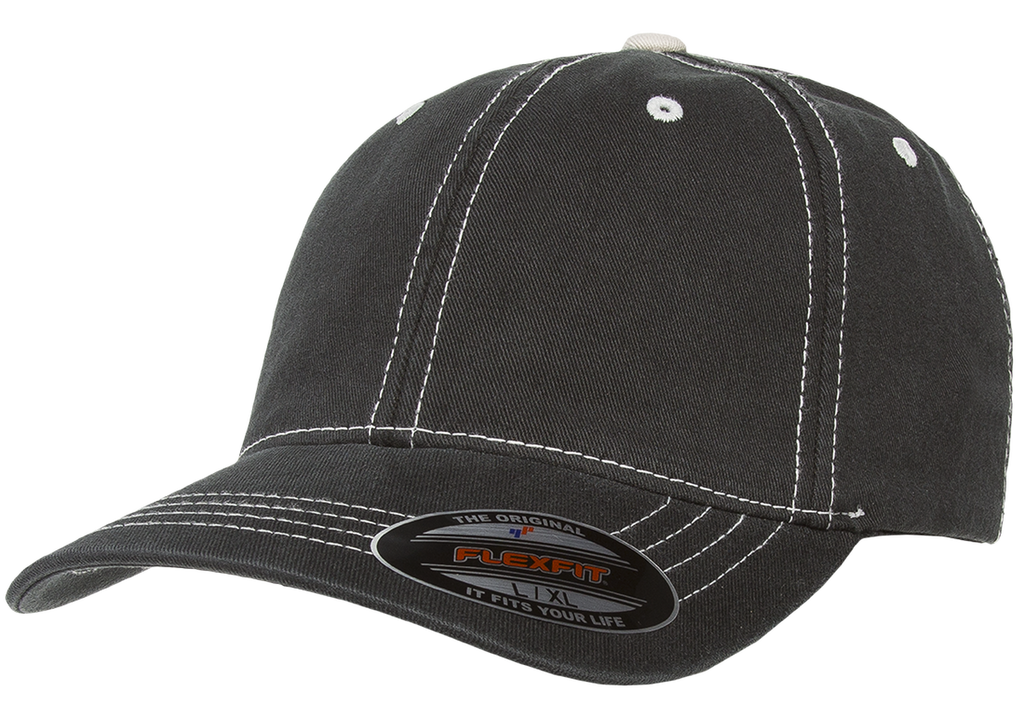 custom flexfit 6386 contrast stitch hat high quality low minimum headwearhut.com