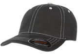 flexfit 6386 contrast stitch hat high quality low minimum headwearhut.com