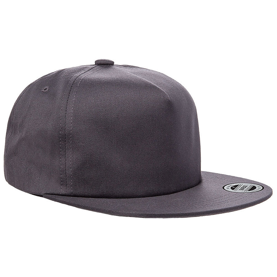 custom flexfit 6502 unstructured five-panel snapback hat high quality low minimum headwearhut.com
