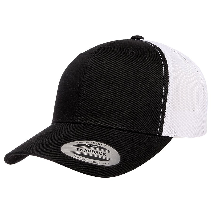 yupoong 6606rt retro trucker hat high quality low minimum headwearhut.com