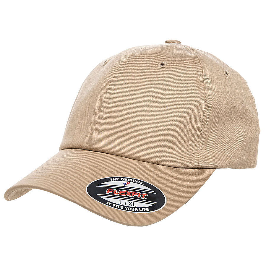custom flexfit 6745 dad hat high quality low minimum headwearhut.com