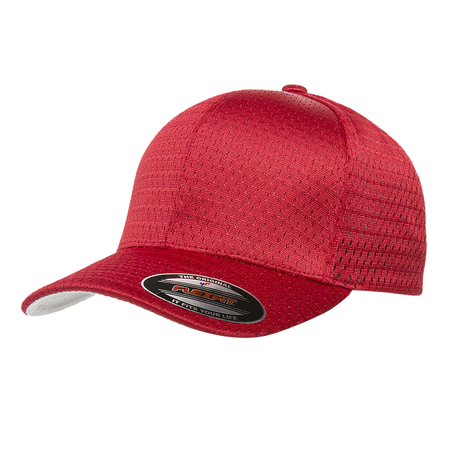 custom flexfit 6777 athletic mesh hat high quality low minimum headwearhut.com