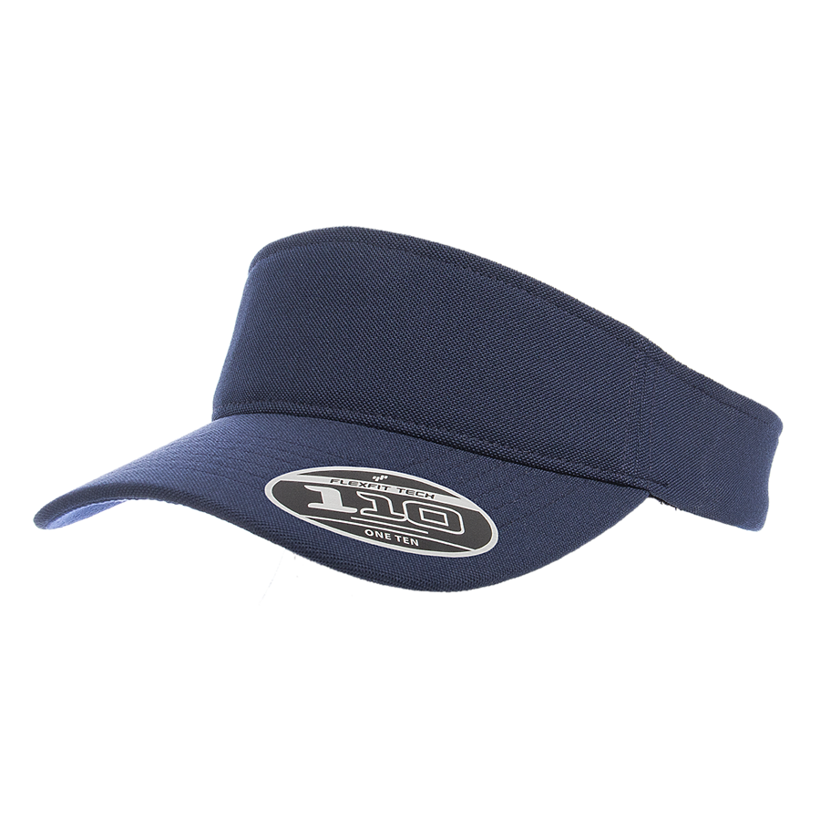 custom flexfit 8110 cool and dry mini pique visor high quality low minimum headwearhut.com