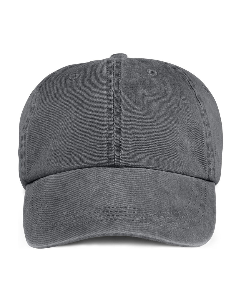 anvil 146 solid 6-panel low profile pigment dyed hat high quality low minimum headwearhut.com
