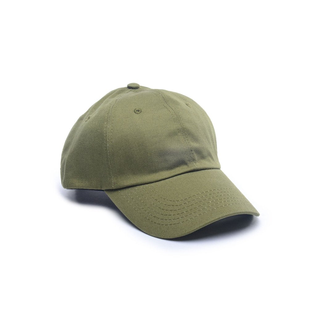 Delusion MFG Army Green - Dad Caps