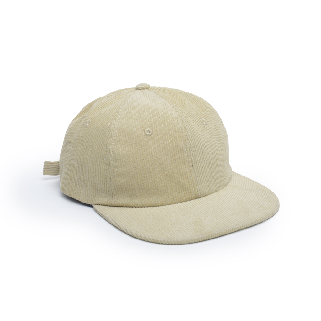 delusion mfg beige corduroy unconstructed floppy 6 panel hathigh quality low minimum headwearhut.com