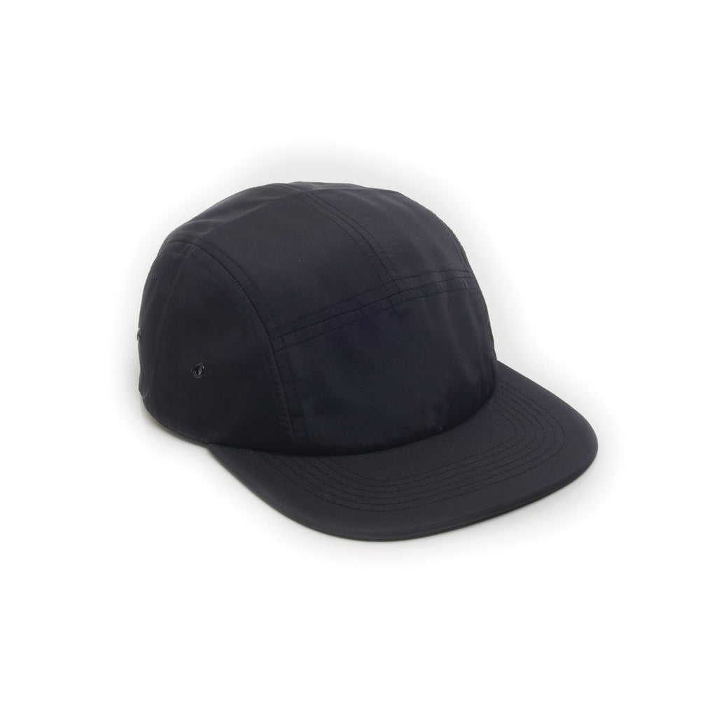 custom delusion mfg black nylon 5 panel hat high quality low minimum headwearhut.com