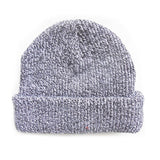 delusion mfg black / white blank mixed beanie hat high quality low minimum headwearhut.com
