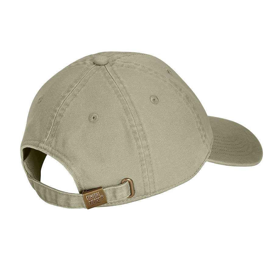 comfort colors 103 direct dyed canvas baseball hat high quality low minimum headwearhut.com