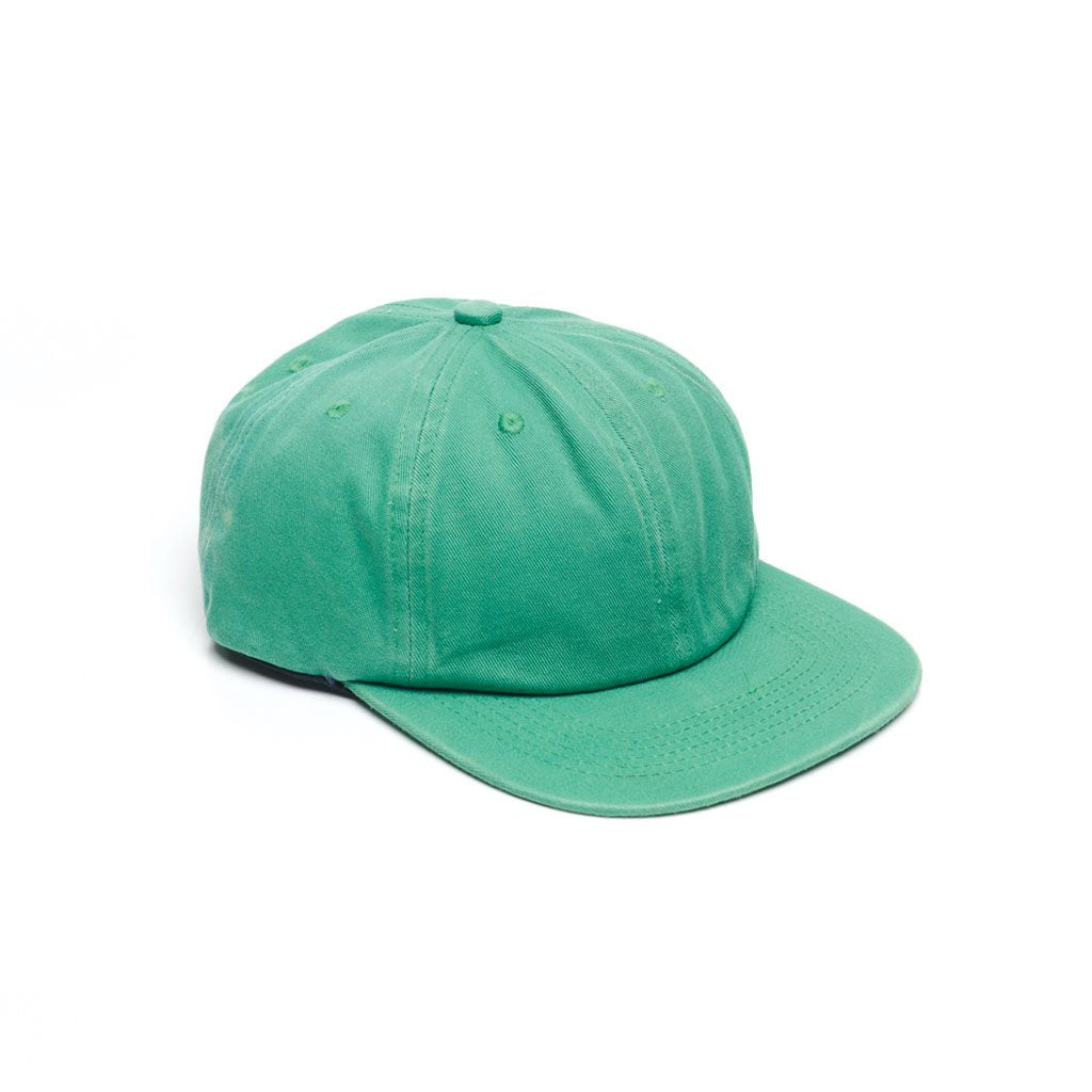delusion mfg kelly green faded unconstructed 6 panel hat high quality low minimum headwearhut.com