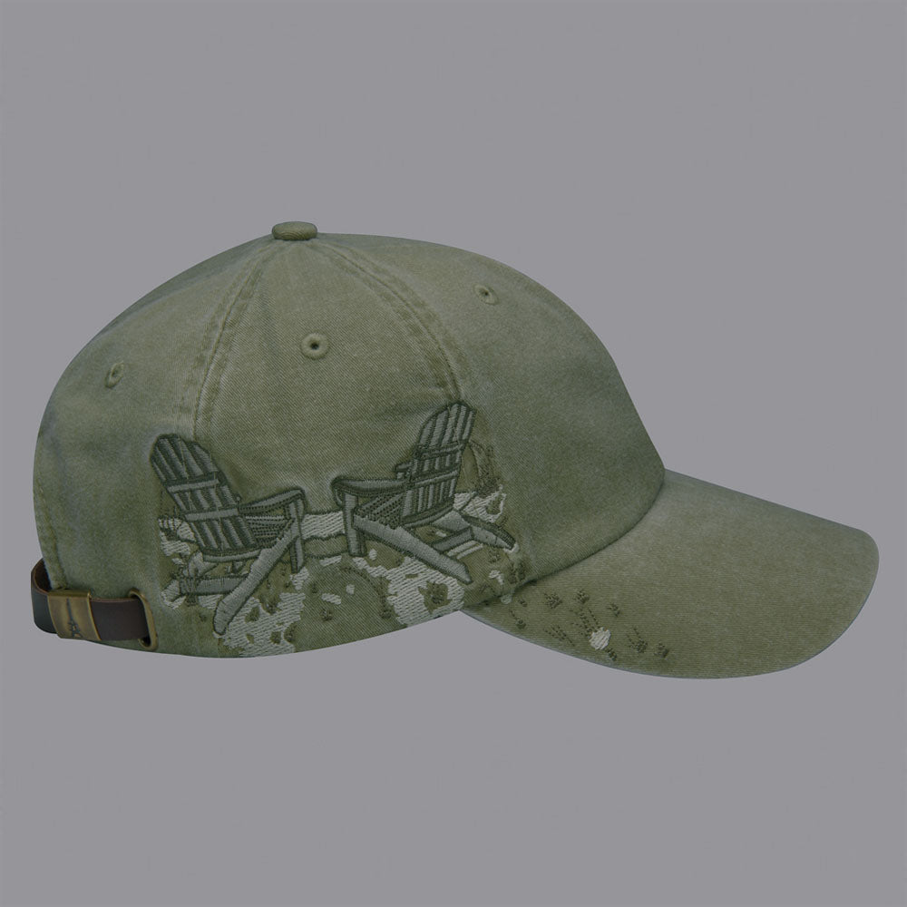adams headwear lpac1 adirondack chairs resort hat high quality low minimum headwearhut.com