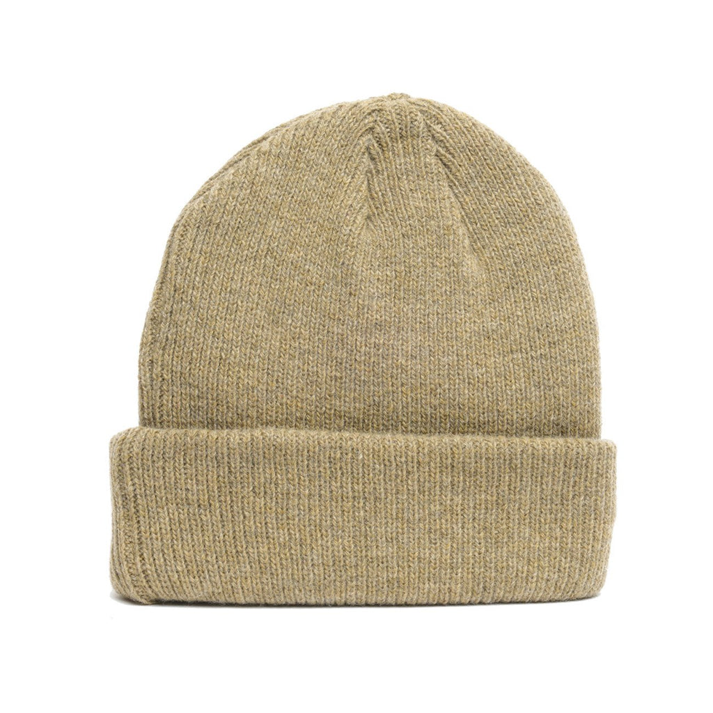 delusion mfg olive merino wool blank beanie hat high quality low minimum headwearhut.com