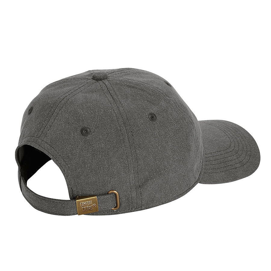 custom comfort colors 104 pigment dyed canvas baseball hat high quality low minimum headwearhut.com