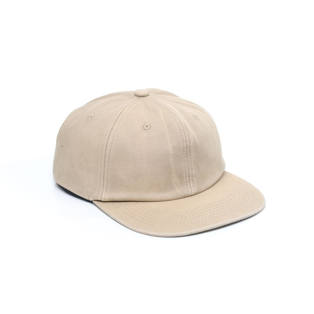 delusion mfg sand unconstructed 5 panel strapback hat high quality low minimum headwearhut.com