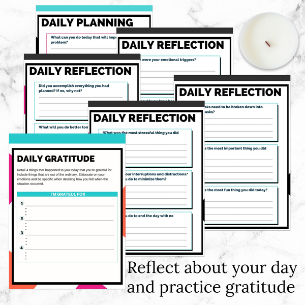 More Than Mom Planner (Self-Care Planner)