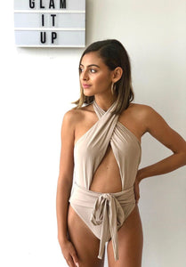 Alex Oyster Wrap One Piece