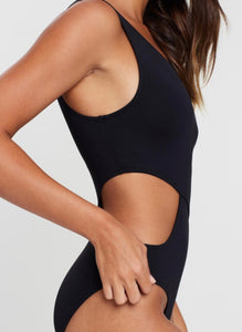 Seafolly One Shoulder Maillot